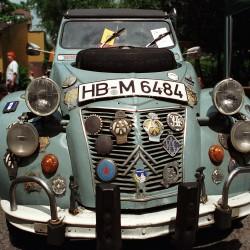 "June 30, 2002 Citroën 2CV Meeting Location ""Dampfe"" Essen, Germany"